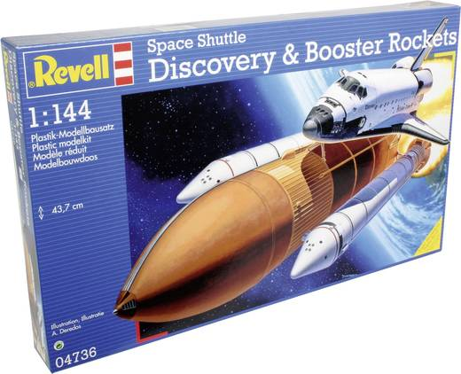 revell discovery space shuttle with boosters - photo #22