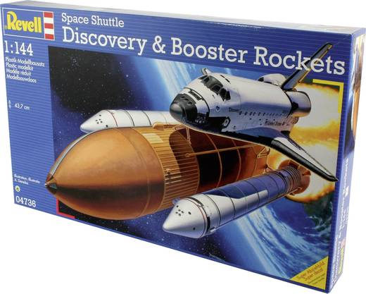 revell discovery space shuttle with boosters - photo #20