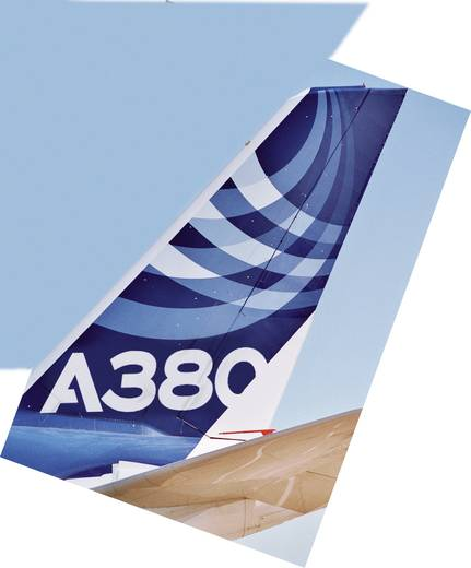 Revell 4218 Airbus A 380 New livery Flugmodell Bausatz 1:144