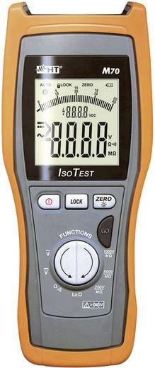 HT Instruments M70 Isolationsmessgerät 250 V, 500 V, 1000 V 4 GΩ Kalibriert nach Werksstandard (ohne Zertifikat)