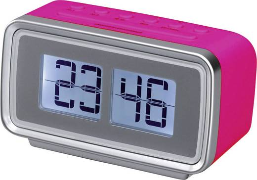 UKW Radiowecker Silva Schneider UR 2400 Retro Pink