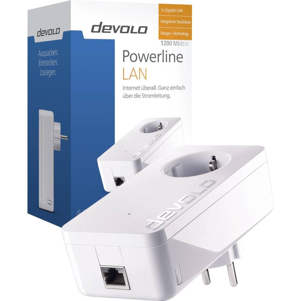 adaptateur cpl simple devolo dlan 1200 1 2 gbit s sur le. Black Bedroom Furniture Sets. Home Design Ideas
