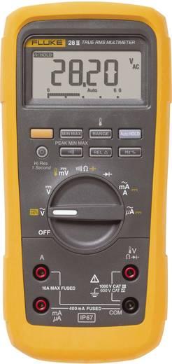 Hand-Multimeter digital Fluke 28II/EUR Kalibriert nach: Werksstandard Wasserdicht (IP67) CAT III 1000 V, CAT IV 600 V Anzeige (Counts): 20000