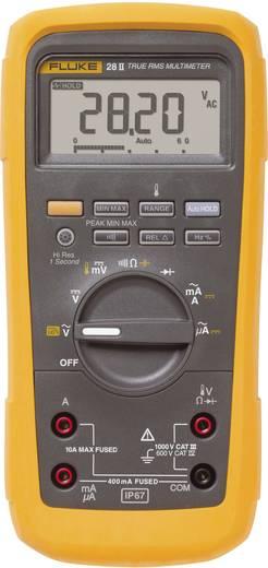 Hand-Multimeter digital Fluke 28II/EUR Kalibriert nach: ISO Wasserdicht (IP67) CAT III 1000 V, CAT IV 600 V Anzeige (Cou