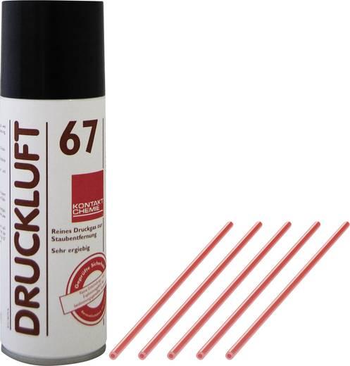 Druckluftspray nicht brennbar, inkl. 5 Sprühröhrchen CRC Kontakt Chemie DRUCKLUFT 67 100 ml