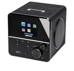 Internetové stolní rádio Medion P85040 (MD 86988), s DLNA, Wi-Fi, černá