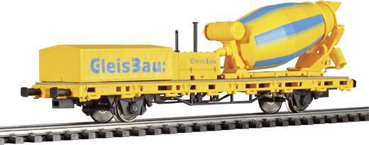 Viessmann 26254 H0 Niederbordwagen mit Betonmischer Gleisbau