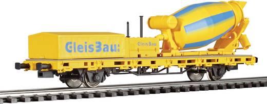 Viessmann 2625 H0 Niederbordwagen mit Betonmischer Gleisbau