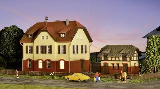 Kibri 37112 N Eisenbahnergebäude mit Nebengebäude