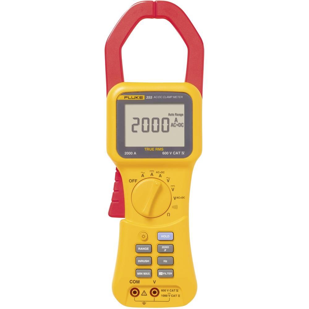 Clamp meter handheld multimeter digital fluke 355 calibrated to clamp meter handheld multimeter digital fluke 355 calibrated to manufacturers standards no certificate cat iii 100 buycottarizona Images
