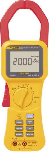 Stromzange, Hand-Multimeter digital Fluke 355 Kalibriert nach: Werksstandard CAT III 1000 V, CAT IV 600 V Anzeige (Counts): 4000
