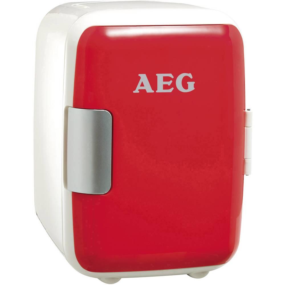 Mini fridge / party cooler Mini-Kühlschrank MS 4 12 V, 230 V Red ...