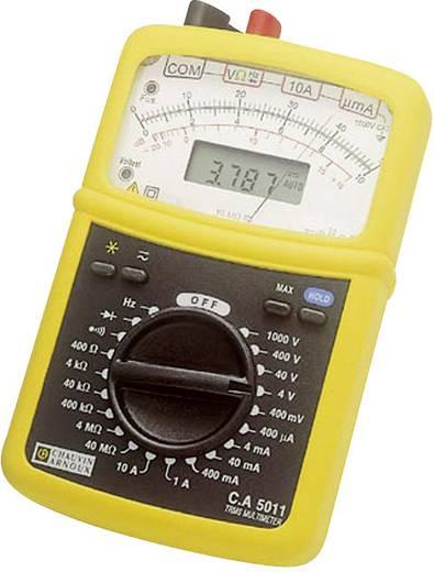 Hand-Multimeter analog, digital Chauvin Arnoux CA 5011 Kalibriert nach: Werksstandard CAT III 1000 V, CAT IV 600 V Anzeige (Counts): 4000