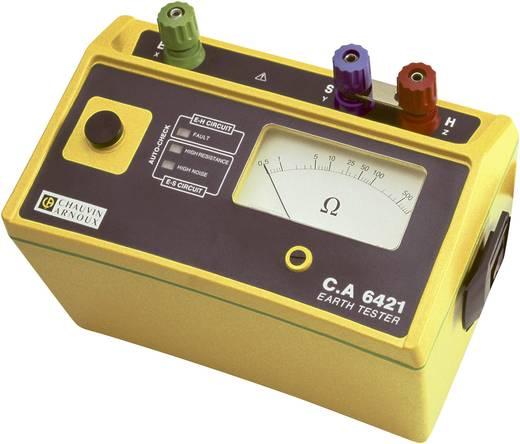 Erdungsmessgerät Chauvin Arnoux C.A 6421 0.5 - 1000 Ω Kalibriert nach Werksstandard (ohne Zertifikat)