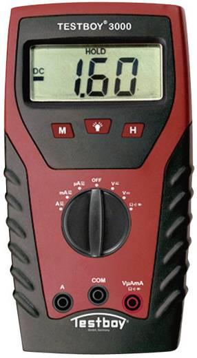 Hand-Multimeter digital Testboy TB-3000 Kalibriert nach: Werksstandard CAT IV 600 V Anzeige (Counts): 2000