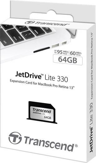 Apple Erweiterungskarte 64 GB Transcend JetDrive™ Lite 330