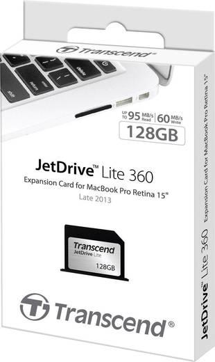 Apple Erweiterungskarte 128 GB Transcend JetDrive™ Lite 360