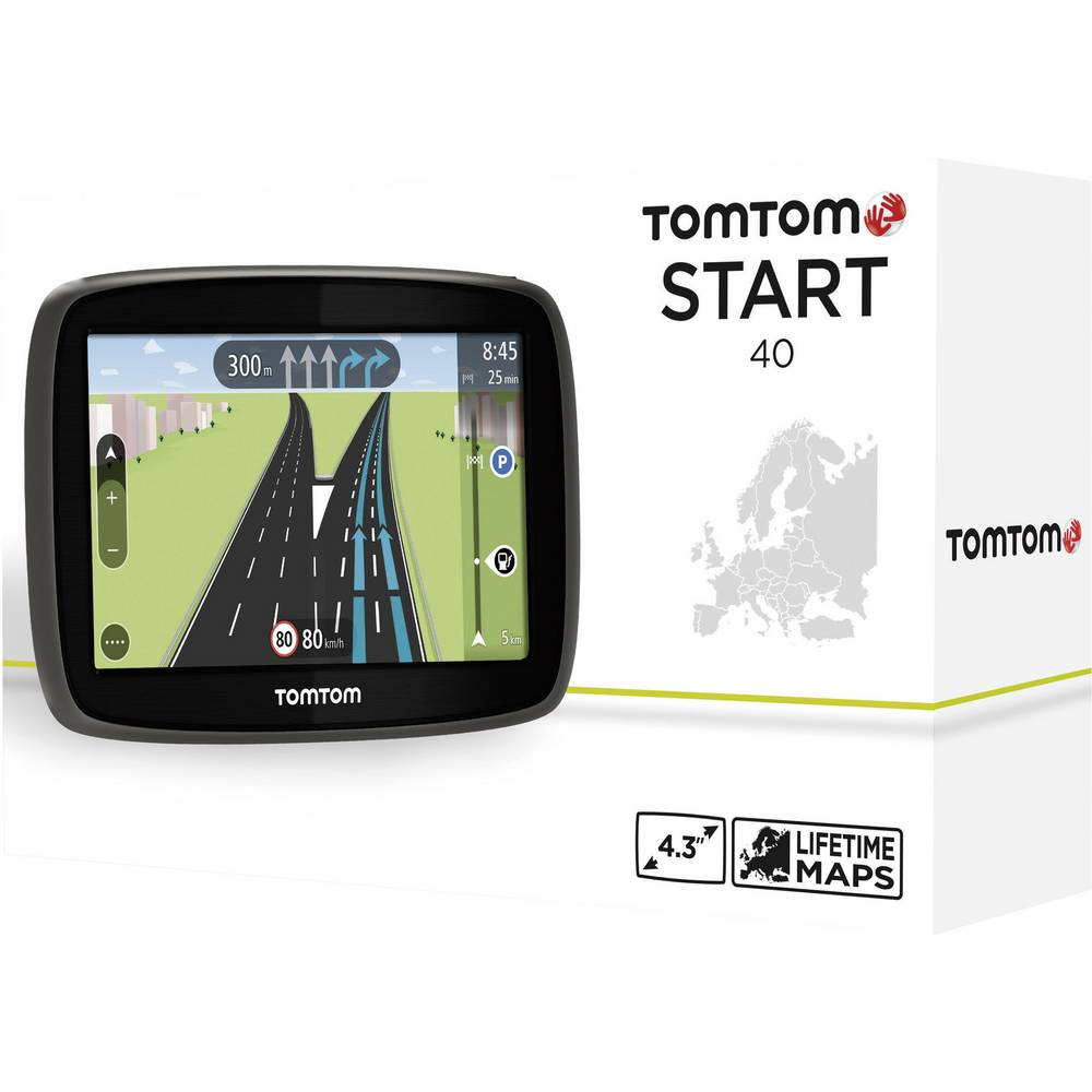 tomtom start 40ce navi 11 cm 4 3 zoll zentraleuropa im. Black Bedroom Furniture Sets. Home Design Ideas