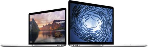 Apple 33.8 cm (13.3 Zoll) Intel Core i5 8 GB 512 GB Intel Iris MacOS® X Mavericks Silber