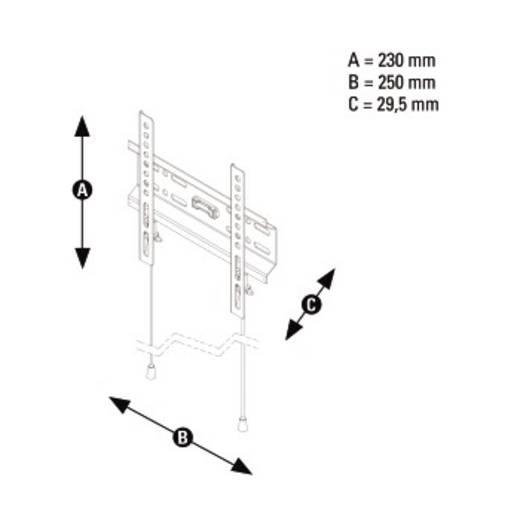 """Thomson WAB546 TV-Wandhalterung 25,4 cm (10"""") - 116,8 cm (46"""") Starr"""