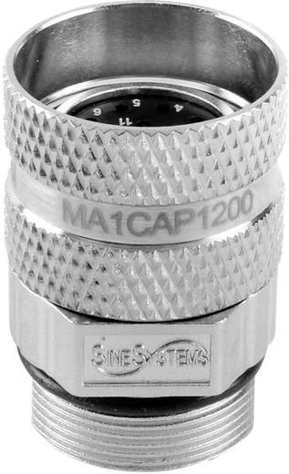 Amphenol MA1CAP1700 Rundstecker Kupplung, gerade Serie (Rundsteckverbinder): MotionGrade™ Gesamtpolzahl: 17 1 St.