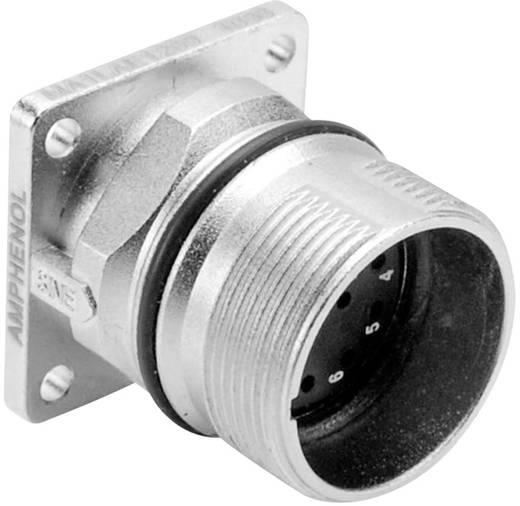 Gerätestecker Vierkantflansch M23A (Stiftkontakte) Pole: 12 10 A MA1LAE1200 Amphenol 1 St.