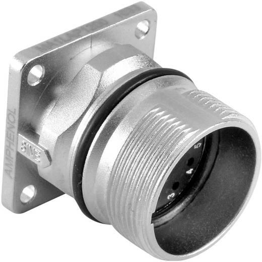 Gerätestecker Vierkantflansch M23A (Stiftkontakte) Pole: 16 10 A MA1LAP1600 Amphenol 1 St.