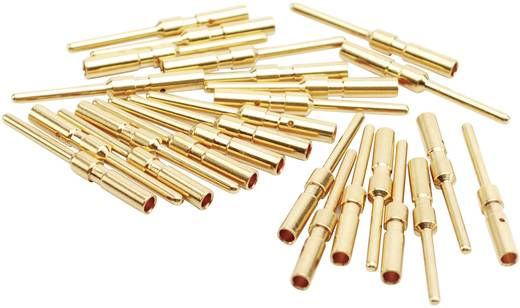 Stiftkontakt für Gerätedosen und Verbindungsstücke, gedreht 1 mm 10 A SC000035 Amphenol 1 St.