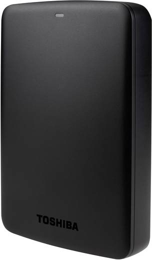 Toshiba Canvio Basics Externe Festplatte 6.35 cm (2.5 Zoll) 2 TB Matt Schwarz USB 3.0