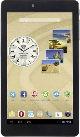 Prestigio MultiPad Rider 7.0 MultiPad Android-Tablet 17.8 cm (7 Zoll) 8 GB UMTS/3G Schwarz 1.3 GHz Dual Core Android™ 4.