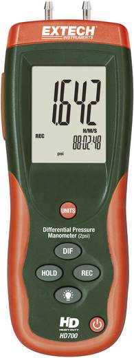 Druck-Messgerät Extech HD700 Luftdruck 0 - 0.1378 bar Kalibriert nach ISO