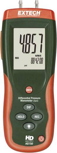 Druck-Messgerät Extech HD750 Luftdruck 0 - 0.3447 bar Kalibriert nach DAkkS