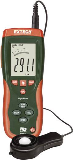 Luxmeter Extech HD400 bis 400000 lx Kalibriert nach Werksstandard (ohne Zertifikat)