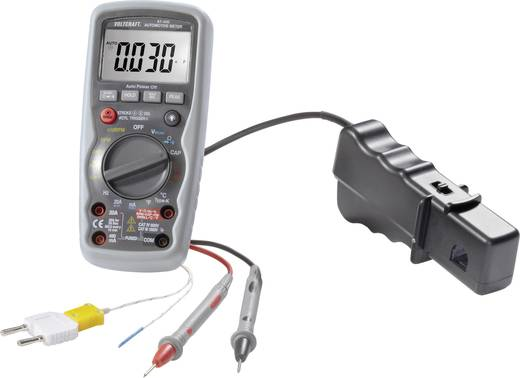 Hand-Multimeter digital VOLTCRAFT AT-400 Kalibriert nach: Werksstandard KFZ-Messfunktion CAT IV 600 V Anzeige (Counts):