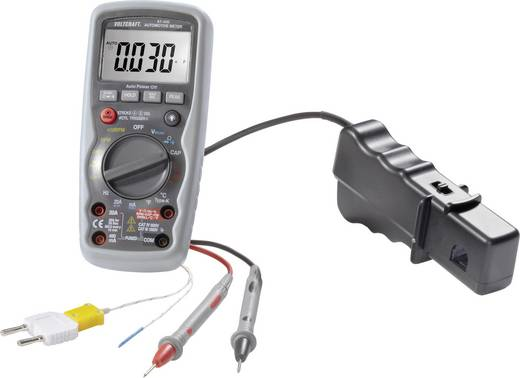 Hand-Multimeter digital VOLTCRAFT AT-400 Kalibriert nach: Werksstandard (ohne Zertifikat) KFZ-Messfunktion CAT IV 600 V