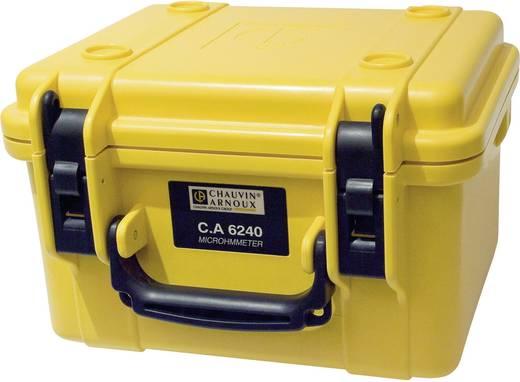 Chauvin Arnoux CA 6240 Microohm-Meter, CAT III 50 V Kalibriert nach DAkkS