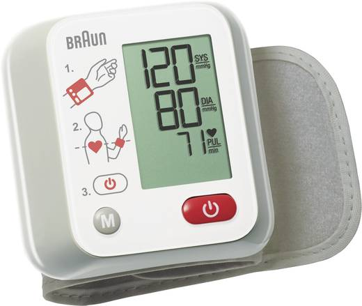 Handgelenk Blutdruckmessgerät Braun VitalScan™ 1 BBP2000WE