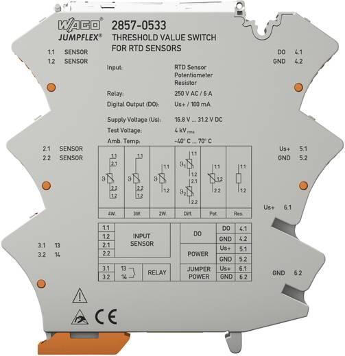 RTD-Grenzwertschalter JUMPFLEX WAGO 2857-533 1 St.