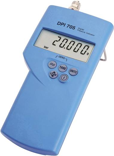 Druck-Messgerät GE Sensing DPI 705-20 bar-R Luftdruck 0 - 20 bar Interner Edelstahl-Sensor Kalibriert nach ISO