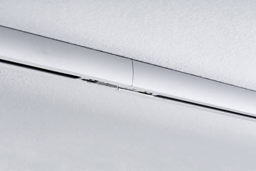 Hochvolt-Schienensystem-Komponente Längsverbinder Paulmann URail System Light&Easy 95136 Silber