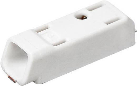 Adels-Contact SMDflat 345/1 Federkraftklemmblock 0.75 mm² Polzahl 1 Weiß 1 St.