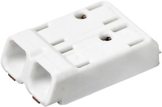 Federkraftklemmblock 0.75 mm² Polzahl 2 SMDflat 345/2 Adels-Contact Weiß 1 St.