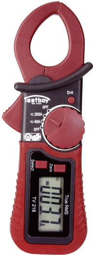 Stromzange, Hand-Multimeter digital Testboy TV 218 Kalibriert nach: Werksstandard CAT III 300 V Anzeige (Counts): 4000