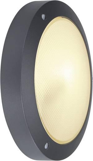 Außenwandleuchte Energiesparlampe, LED E14 60 W SLV Bulan 229075 Anthrazit