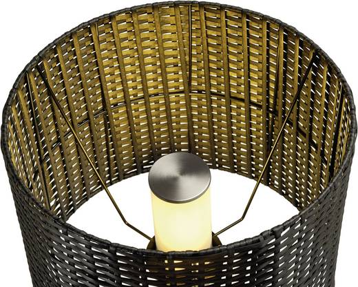 Stehlampe Energiesparlampe E27 24 W SLV Adegan Manila 231395 Anthrazit