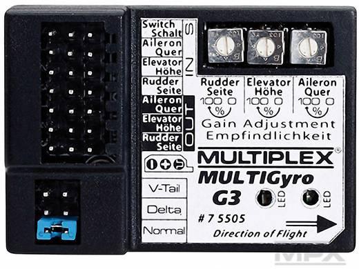 4-Kanal Flächenkreisel Multiplex Multigyro G3