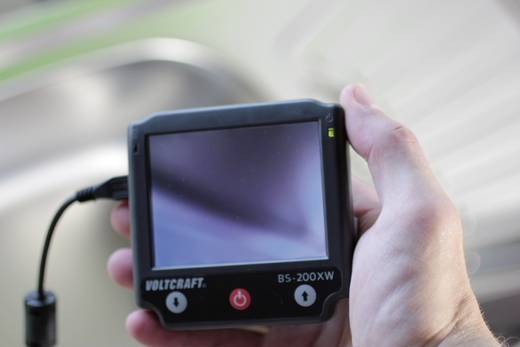 VOLTCRAFT BS-200XW Endoskop Sonden-Ø: 8 mm Sonden-Länge: 88 cm Fokussierung, Optionale Verlängerungen, Abnehmbarer Monit