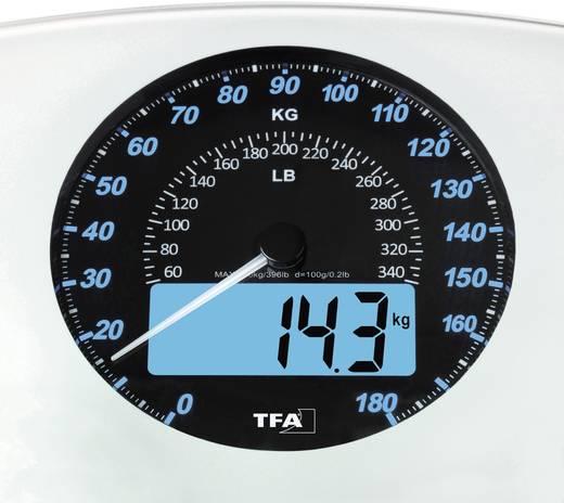 Digitale Personenwaage TFA SWING Wägebereich (max.)=180 kg Weiß