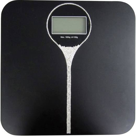 Digitale Personenwaage TFA Charleston Wägebereich (max.)=180 kg Schwarz