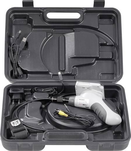 Endoskop VOLTCRAFT BS-300XRSD Sonden-Ø: 8 mm Sonden-Länge: 183 cm Wechselbare Kamerasonde, Abnehmbarer Monitor, WiFi, TV